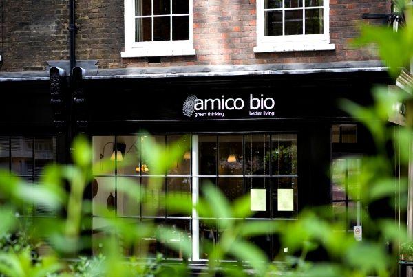 Amico Bio: London's original vegetarian and organic Italian restaurant in Farringdon.