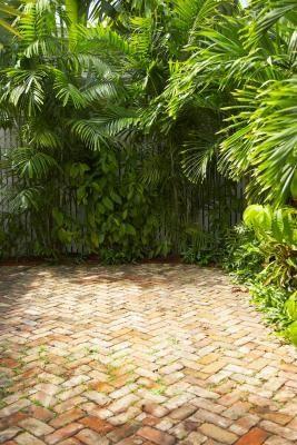 herringbone pattern for our brick patio  Do-it-Yourself Brick Patio