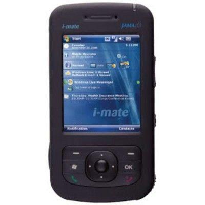 #i-Mate #Jama 101i-Mate Jama 101 è uno smartphone con design standard basato sul processore Samsung SC32442x da 300 Mhz e sul sistema operativo Microsoft Windows Mobile
