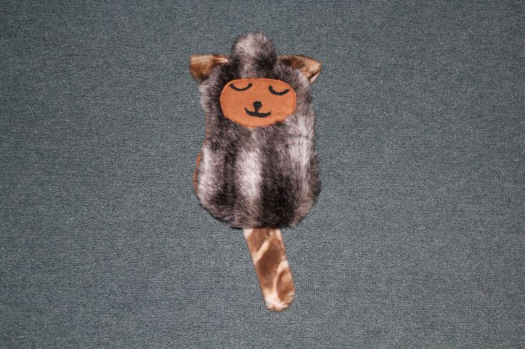 We love this little possum hot water bottle cover #Craft #BrotherDesignStars