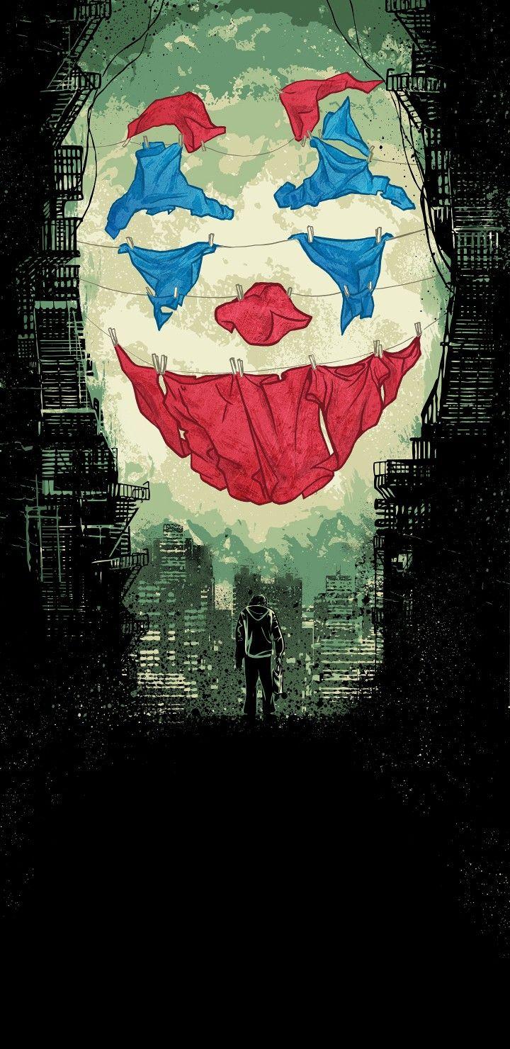Descarga Este Wallpaper De Joker Gratis Para Tu Telefono
