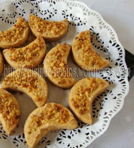 biscuit aux cacahuètes - cuisine à 4 mains