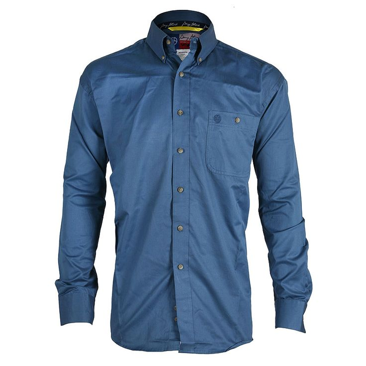 Long Sleeve, Spread Collar, Western Pockets & Yokes, Embroidery on Yokes, Topstitching, Rock 47® Label on Bottom of Center Front Placket, Two Snap Cuffs, snaps.