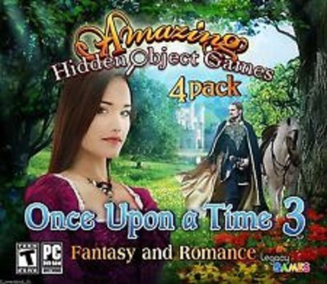 New PC Amazing Hidden Object Games Once Upon A Time 3 Happily Ever After 4 Pack #Legacy