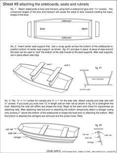 Free Wooden Jon Boat Plans