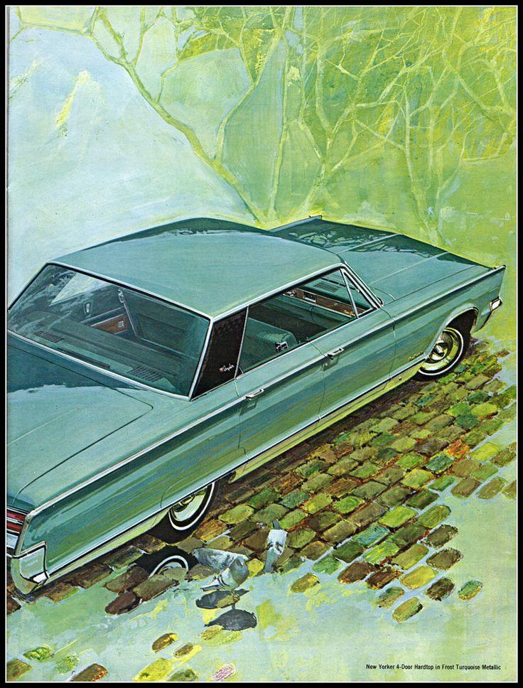 https://flic.kr/p/8BKE1s | 1966 Chrysler New Yorker 4 door hardtop