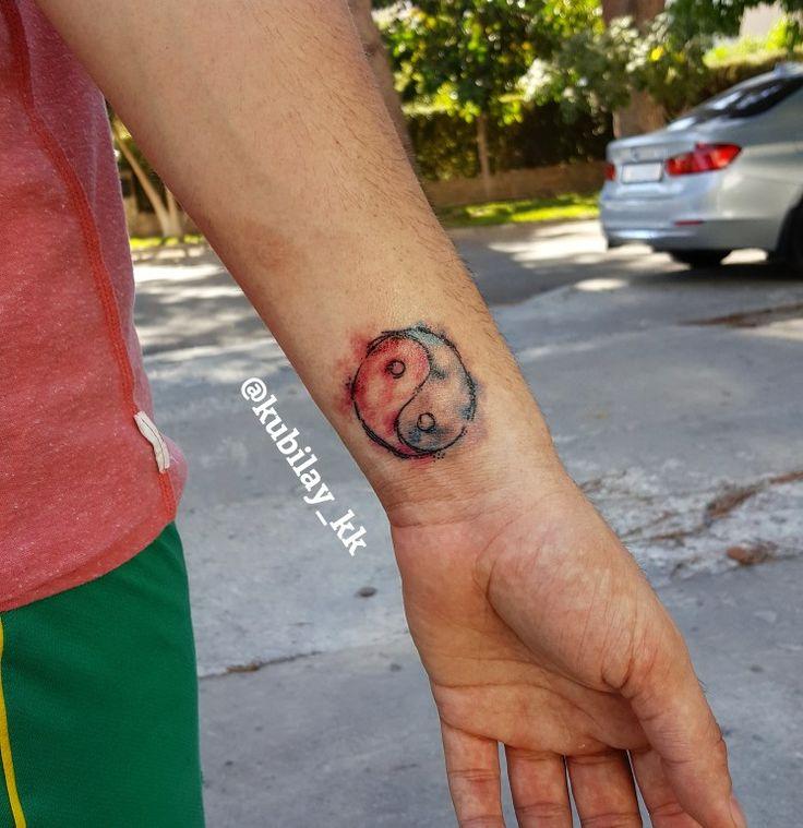 #yinyang #yinyangtattoo #tattoo #tattoos #ink #watercolor #watercolortattoo #yinyangwatercolor #yinyangwatercolortattoo #yinyangdövmesi #dövme #dövmeler #suluboya #suluboyadövmeler #kubilayküçük #design #tattooflash