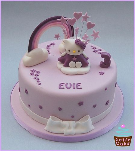Hello Kitty Rainbow Cake | Flickr - Photo Sharing!