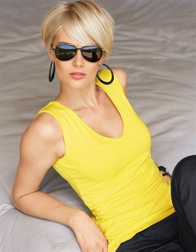 for straight, fine hair Blondes Hairstyles, Shorts Blondes, Cute Short Haircuts, Popular Short Hairs | Short Haircuts