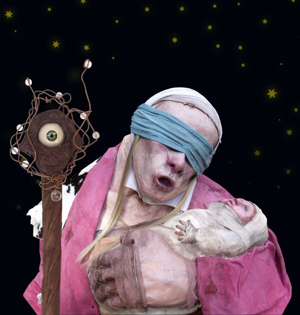 Fortune teller puppet by Tablo - www.tablo.co.nz
