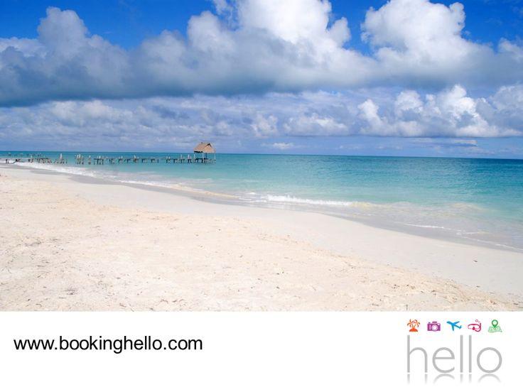 """LGBT ALL INCLUSIVE AL CARIBE. En Cancún hay cinco playas que cuentan con el distintivo """"Bandera Azul"""", un reconocimiento que califica aspectos como la calidad del agua y los servicios turísticos que se ofrecen en la zona. Si ya tienes tu pack all inclusive de Booking Hello para tu próximo viaje, te recomendamos visitar Playa Chac Mool, Perlas, Marlín y Delfines. Te aseguramos que pasarás un gran día, conociendo los alrededores de este fabuloso destino. #BeHello"""