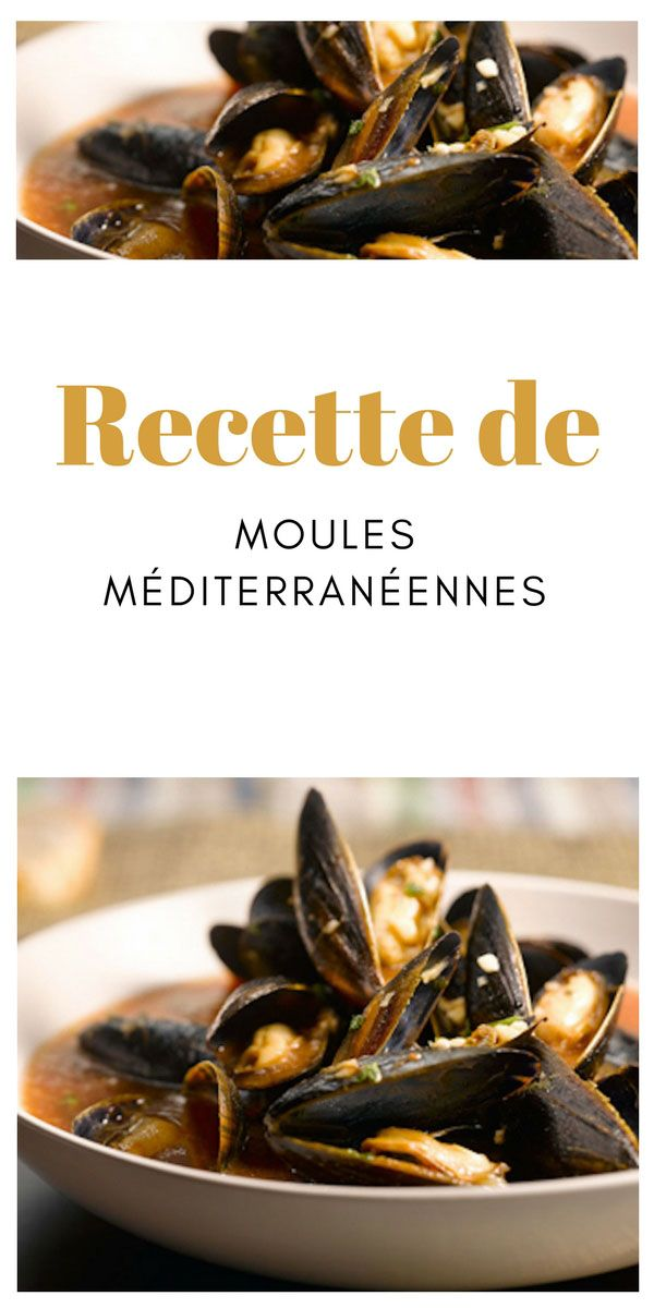 #moules #méditerranéenne