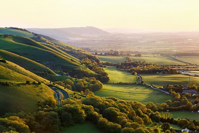 Sunset on the South Downs...Tim Stocker