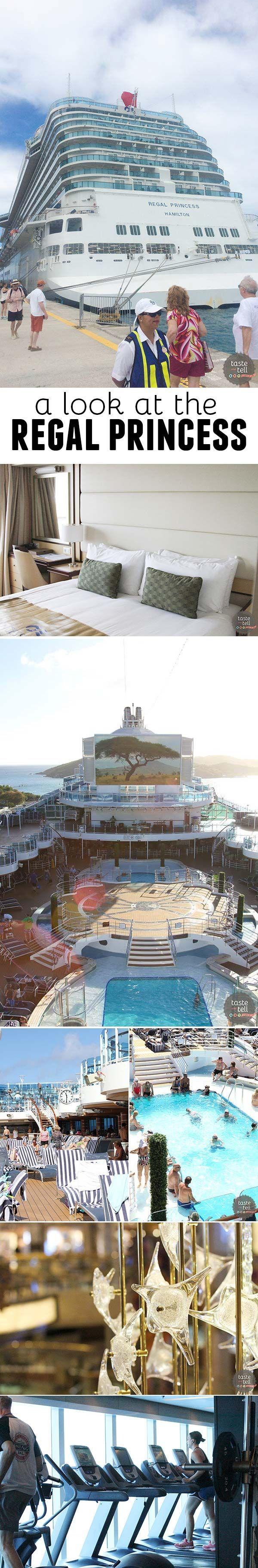 A look at the Regal Princess, from Princess Cruises