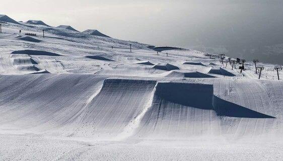 Snowpark Laax.