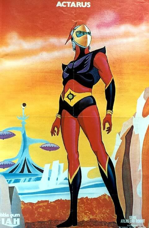 Atlas UFO Robot (Actarus) Elah poster 7