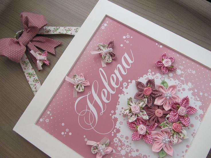 Concepção de Enfeite de Porta Maternidade Flores Rosa e preço http://ift.tt/2ECiMum