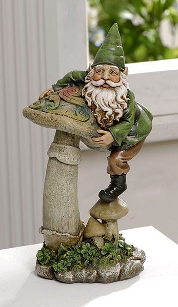 Gnome In Garden: 34 Best Gnome Obsession Images On Pinterest
