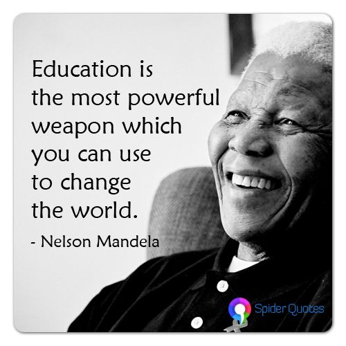 Nelson Mandela Quotes On Change: Pin By Lauruss Infotech On SpiderQuotes