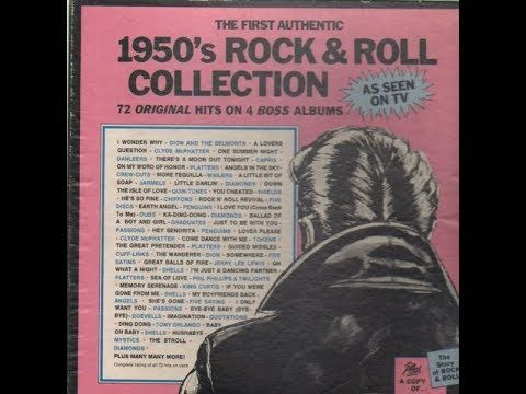 First Authentic 50's Rock & Roll Collection (Album 1)