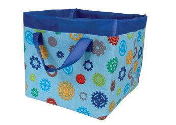 Storagebox with the 'Wheels in motion' print