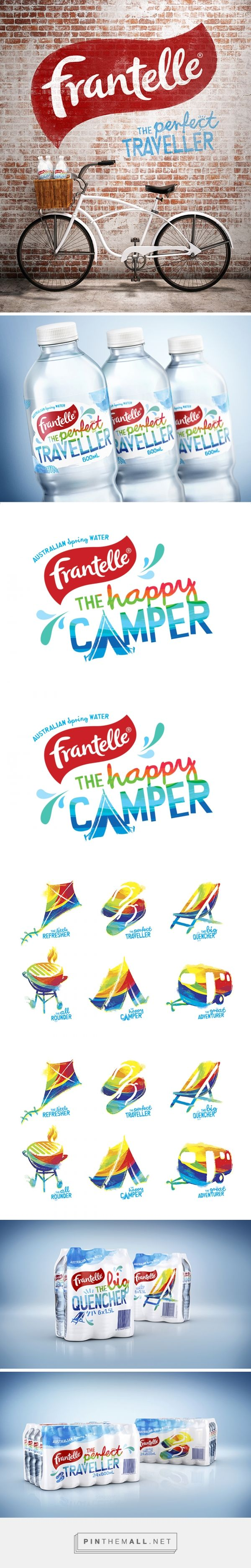 PROJECT - Frantelle Spring Water — Asprey Creative - created via https://pinthemall.net