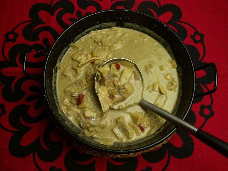 tajskie zielone curry z ryby