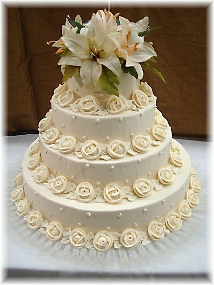 Lovely Italian Wedding Cake