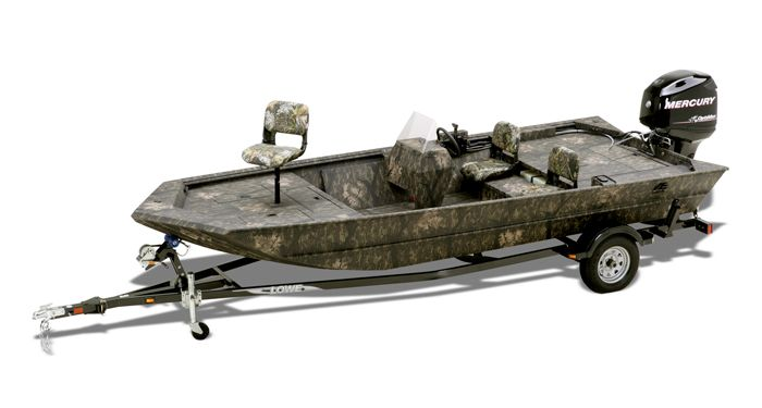 Lowe Boats Roughneck 1860SC Jon Boat | Duck Hunting Boats Manufacturer : 2015