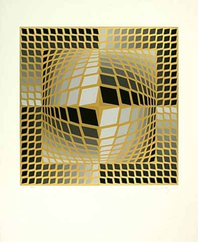 Do-Re by Victor Vasarely