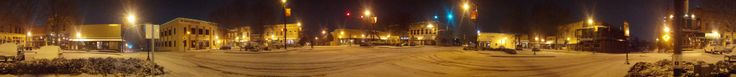 Adamson Square Downtown in Carrollton, Georgia. on Jan 28, 2014