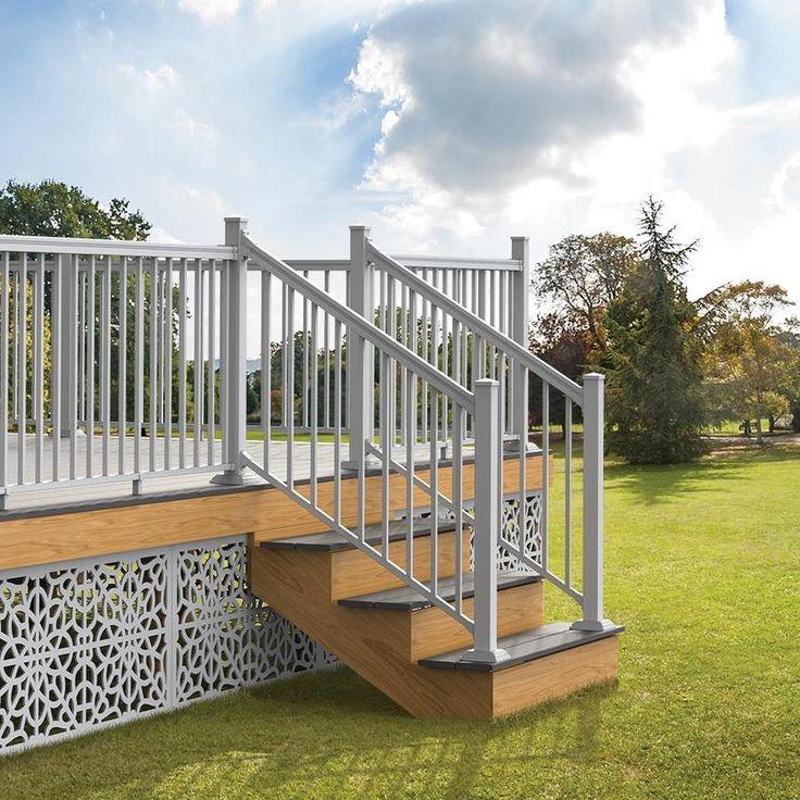 Best Freedom Assembled 6 Ft X 3 Ft Versarail Stair White 400 x 300