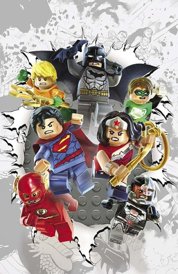DC Comics Theme Month LEGO Variant Covers (November 2014) | DC Comics