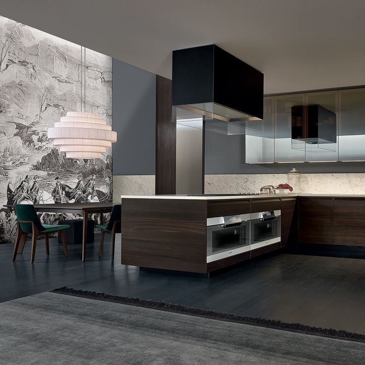 The 61 Best Images About Küchen On Pinterest | Long Kitchen, Modern  Kitchens And Black Kitchens