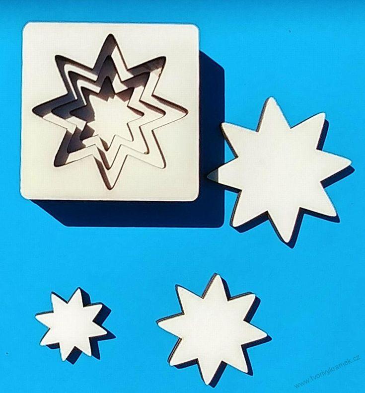 3D Vkládačka - hvězda