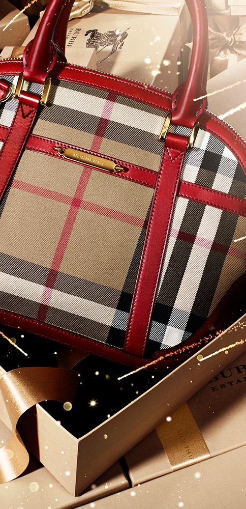 Gifts for her - The Orchard bag in iconic check from the Burberry Lunar New Year collection | gifts