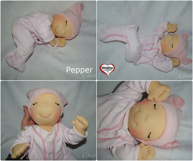 Gledita baby doll for playing - Pepper  #gleditababydoll