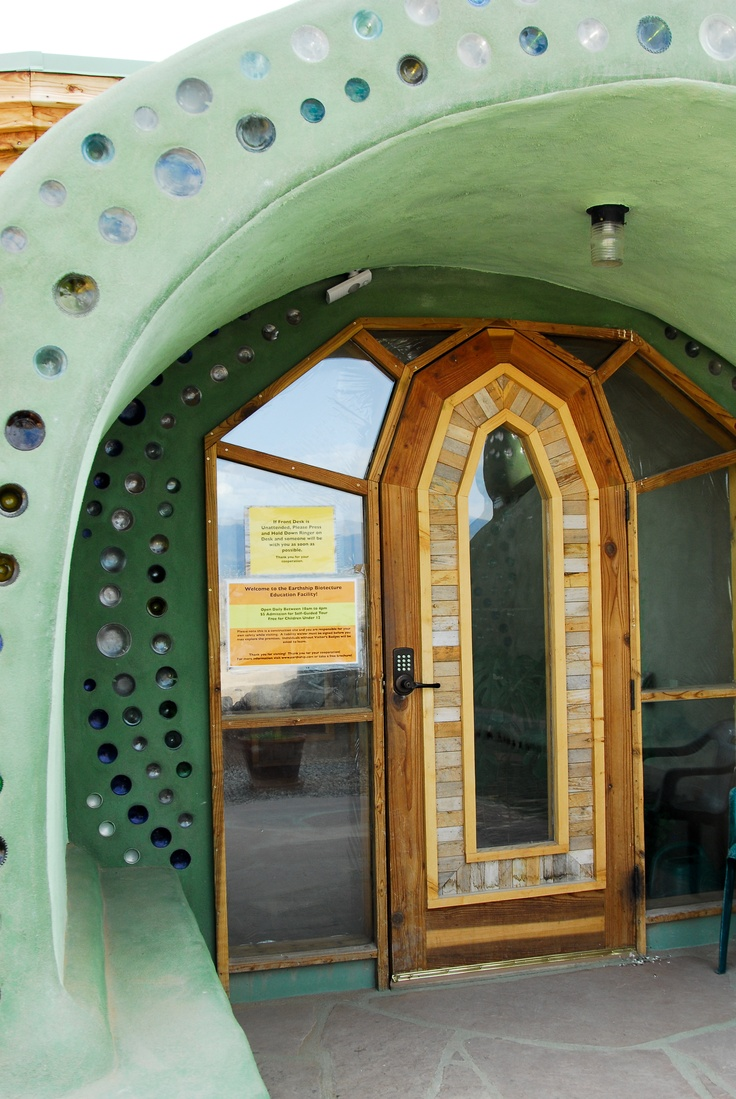 Earthship Biotecture Community   Taos, New Mexico. Earthship Design ...