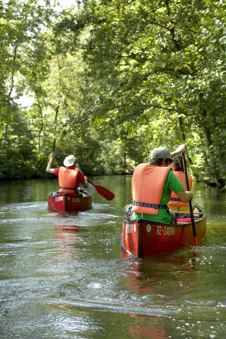 Kanu fahren im mystischen Schaalseekanal
