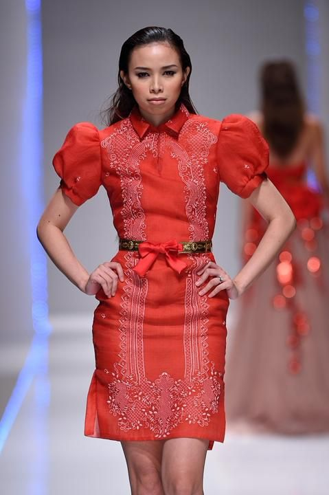 323 Best Images About Modern Filipiniana On Pinterest | Fashion Weeks The Philippines And ...