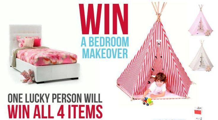 Win A Bedroom Makeover from Hip Kids