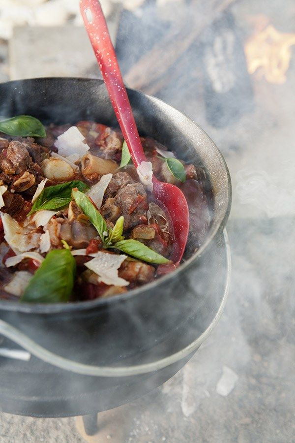 Curry Potjie - The South African specialty, a hardy meat and vegetable stew, is traditionally cooked in a large three-legged pot. Spiked with a rainbow of spices, you won't regret slurping it up with a glass of Pinotage......