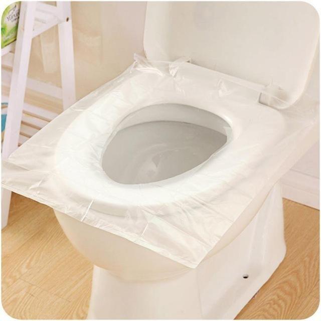 12pcs Universal Toilet Disposable Sticker Toilet In 2020 Toilet Seat Cover Toilet Seat Portable Toilet Seat