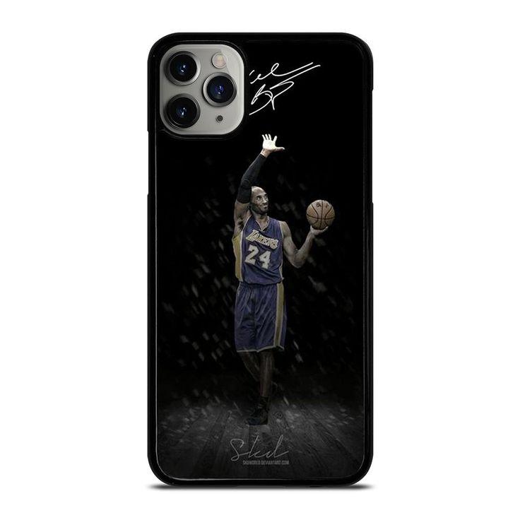 La lakers kobe bryant signature 2 iphone 11 pro max case