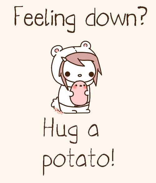 I  kawaii potato >_<                                                                                                                                                                                 More