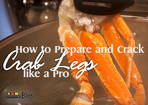 How to Prepare and Crack Crab Legs like a Pro! - www.cobornsblog.com
