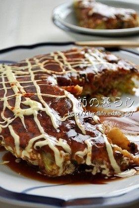 小麦粉なしのお好み焼き by will-mari [クックパッド] 簡単おいしい ...
