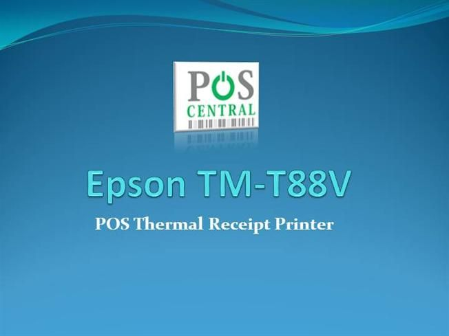 The TM-T88V POS thermal printer is the latest addition to Epson's industry-leading TM-T88 POS printer series. The TM-T88V delivers more speed and more reliability than ever before.