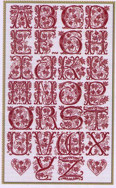 The French Needle: Alphabet AMAP 8