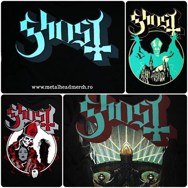 """If You Have Ghost, You Have Everything"" www.metalheadmerch.ro #romania #tricou #tricouri #ghost"